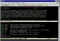 Screenshot programu Vim 7.3.46