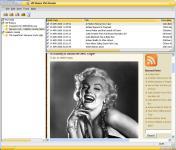Screenshot programu VIP Rumor RSS Reader 4.0.0.0