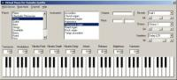 Screenshot programu Virtual Piano 3.0