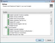 Screenshot programu Vispa 0.6.4