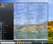 Screenshot programu Vista Start Menu 3.88