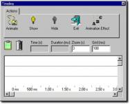 Screenshot programu Visual GIF Animator 6.102
