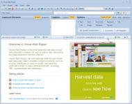 Screenshot programu Visual Web Ripper 2.124.2