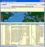 Screenshot programu VisualRoute 2009 Lite Edition 13.1e