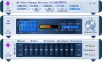 Screenshot programu AV Voice Changer Software 8.0