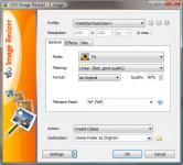 Screenshot programu Light Image Resizer 4.7.6.1