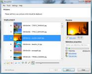 Screenshot programu VSO PhotoDVD 4.0.0.37 d