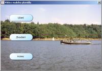 Screenshot programu Vůdce malého plavidla