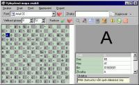 Screenshot programu Vylepšená mapa znaků 3.0 #2