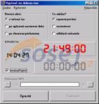 Screenshot programu Vypínač na dobrou noc 1.0.1