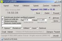 Screenshot programu Vypnutí PC 1.0