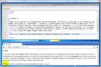 Screenshot programu Vytváříme web v HTML/CSS