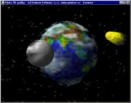 Screenshot programu Výuka 3D grafiky
