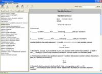 Screenshot programu WINLEX  2007