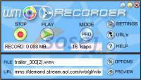 Screenshot programu WM Recorder 16.4.0.0