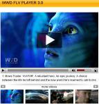 Screenshot programu WWD FLV Player 3.00
