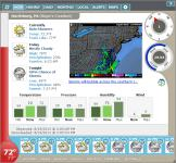 Screenshot programu Weather Watcher Live 7.1.138