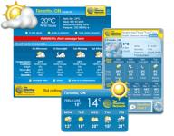 Screenshot programu WeatherEye 2.6.1.3