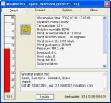 Screenshot programu WeatherInfo 2.2.4655.37540