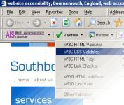 Screenshot programu Web Accessibility Toolbar 1.2