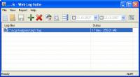Screenshot programu Web Log Suite 6.1 Build 0565