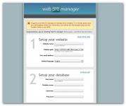 Screenshot programu Web Pro Manager 1-12a