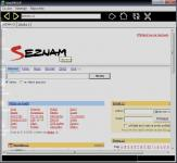 Screenshot programu WebPROOF 1.1