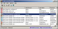 Screenshot programu WebBrowserPassView 1.70