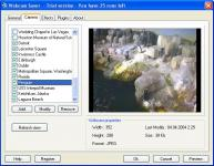 Screenshot programu Webcam Saver 1.4.3