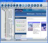 Screenshot programu WebCopier 5.3