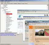 Screenshot programu WebProhlizec 1.2.1