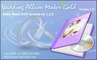 Screenshot programu Wedding Album Maker Gold 3.35
