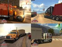 Screenshot programu 18 Wheels of Steel American Long Haul