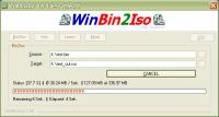 Screenshot programu WinBin2Iso 2.88 Build 001 Portable
