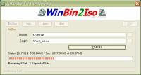 Screenshot programu WinBin2Iso 2.88 Build 001