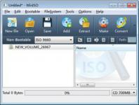 Screenshot programu WinISO 6.3.0.4702