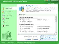 Screenshot programu WinMend Registry Cleaner 1.6.3