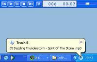 Screenshot programu WinAmpBar 1.51