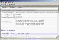 Screenshot programu WinCrashReport 1.23