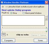 Screenshot programu Window Handler Platinum 2.0.4