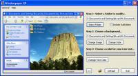 Screenshot programu Windowpaper XP 1.01