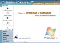 Screenshot programu Windows 7 Manager 5.1.6