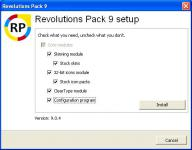 Screenshot programu Windows 98 Revolutions Pack 9.0.4