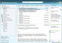Screenshot programu Windows Live Mail 2012 16.4.3505.0912