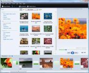 Screenshot programu Windows Live Movie Maker 2012 2.6 Vista