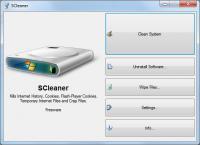 Screenshot programu Windows System Cleaner 1.15.0.0