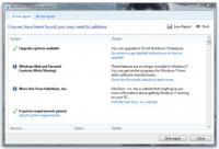 Screenshot programu Windows 7 Upgrade Advisor