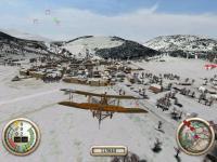 Screenshot programu Wings of War