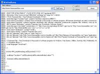 Screenshot programu WinHtmlDump 1.1.3040
