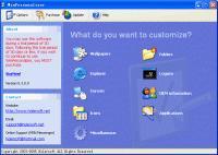 Screenshot programu WinPersonalizer 5.3